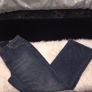 Seven7 Jeans - Rhinestone Detail Seven Jeans